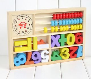 Kids Toys Wooden Toys Digital Learning Box Baby Learning Toys Computing