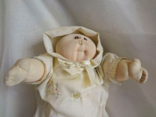 "Little People Soft Sculpture 1978 Hand Signed ""80"" Cabbage Patch Kids Doll"