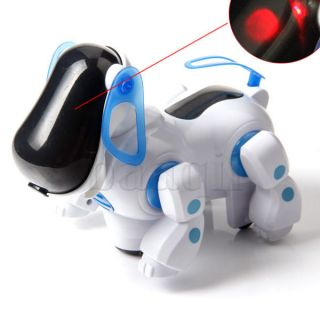Robot Electronic Robotic Pet Dog Walking Puppy Kids Toy Children Boys Girls FA