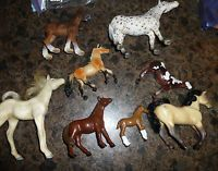 Collection of Horses Includes 2 German Schleich Horses Farm Animals