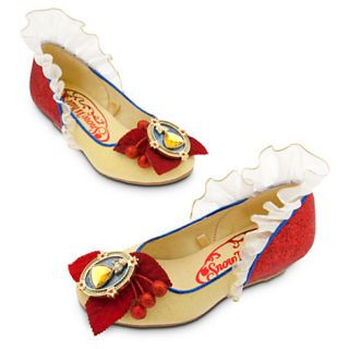 Disney Authentic Snow White Girls Shoes 11 12 Princess Halloween Costume Gift