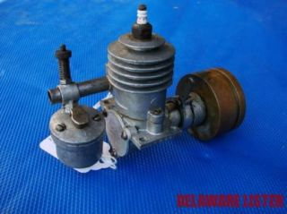 "Vintage Syncro Devices ""B 30"" 1940 Model Small Airplane Marine Boat Engine"