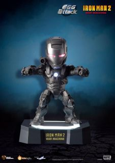 Kids Logic Marvel Iron Man 2 Mini Egg Attack LED War Machine Figure