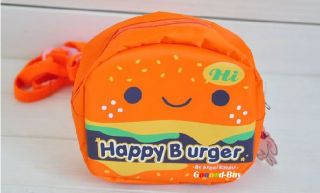 Baby Toddler Kids Children Walking Safety Rein Harness Hamburger Bag
