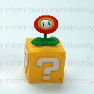 Furuta Choco Egg Nintendo Wii Super Mario Bros Galaxy Flower Figure Toy