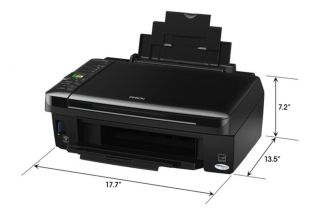 Epson Stylus NX420 All in One Printer No Supplies No Ink Edible Cake 125