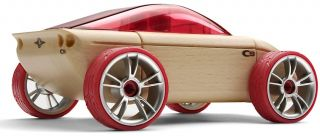 Automoblox C9 Sports Kids Wooden Building Block Toy Car 985002 New Same Day SHIP
