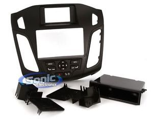 Metra 99 5827B 2012 Up Ford Focus Double Single DIN Radio Installation Dash Kit