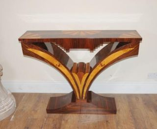 Modernist Art Deco Retro Console Table Hall
