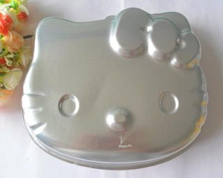 1pcs Aluminum Hello Kitty Shape Cake Pan Baking Mold Cake Mold