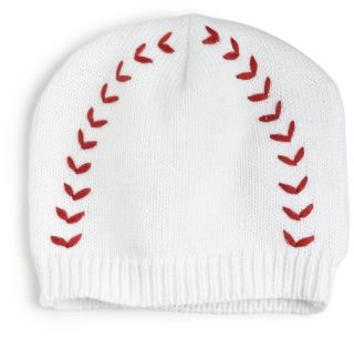 Mud Pie Newborn Baby Boys Baseball Knit Cap Hat Beanie Size 12 18 Months