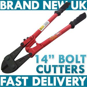 "New Pro Heavy Duty Bolt Wire Cutters Croppers 14"" 350mm"