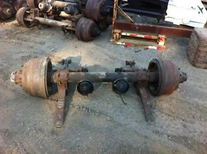 Heavy Duty Rockwell Trailer Axle 22 500 Capicity