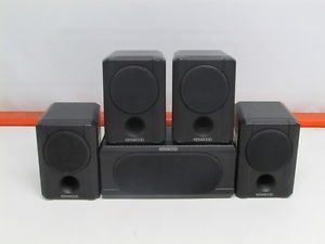 Kenwood KS 206HT Black Home Theater Sound System Audio Speakers 5 1 Tested