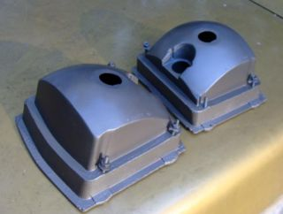 Mopar 68 Dodge Dart Tail Light Housings