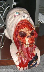 Blurp Charlie Horror Zombie Mask Deluxe Ultra Scary Mask in Stock