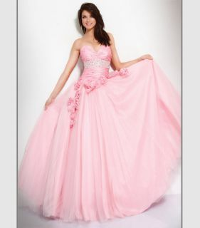 JOVANI 159777 Royal Strapless Prom Dress Evening Formal Gown 8
