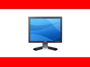 "Dell E177FPB 17"" Flat Screen LCD Computer Monitor Black Tested Fast Shipping"