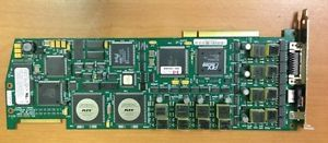 Dialogic D 82JCT U PBX Integration Board Universal PCI Voice Interface Card