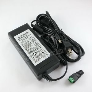 12V 8A Power Supply AC Switching Adapter for LCD Monitor TV LED Strip Cord New