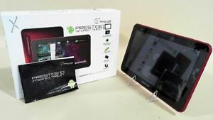 Visual Land 16GB WiFi Android Bluetooth Prestige 10 Internet Tablet Red 2EFN 1 828063411072