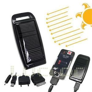 Solar Powered iPod Touch Charger