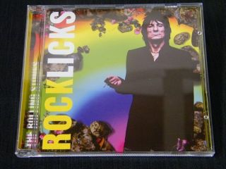 Rolling Stones Rock Licks Original Silver Disc CD Jewelcase Mint