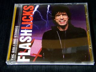Rolling Stones Flash Licks Original Silver Disc CD Jewelcase Mint