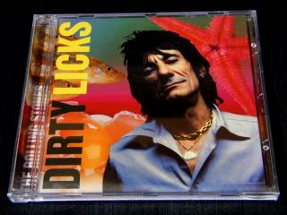 Rolling Stones Dirty Licks Original Silver Disc CD Jewelcase Mint