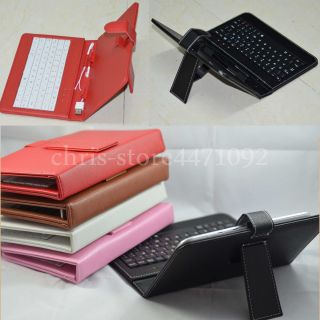 "Colorful Keyboard Case Film Stylus for 8"" Prestigio Multipad PMP5580C PMP5880D"