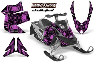 Ski Doo Rev XP Snowmobile Sled Graphics Kit Decal SFPF