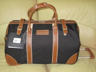 "Tommy Hilfiger Luggage 22"" Rolling Duffel Bag"