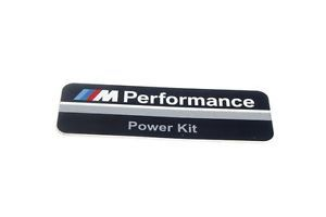 New BMW M Performance Power Kit PPK F10 F11 F20 F30 Sticker Label Badge