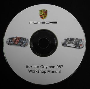 Porsche Boxster Cayman 987 2005 2006 2007 2008 Workshop Repair Service Manual