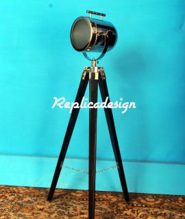 Table Lamp Office Decor Tripod Lights Modern Look Vintage Design Spot Searchligt