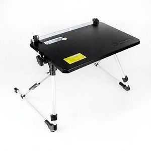 Black Portable Laptop Desk Stand Notebook Bed Sofa Folding Tray Stand Table USA