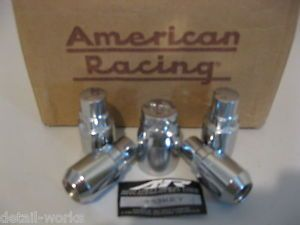 Chevy Silverado 1500 2500 Truck Rims Chrome Lug Nut Wheel Locks