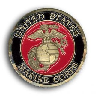 US Marine Corps Corporal Challenge Coin