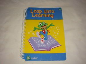 Leap Frog LeapPad Leap Pad Leap Into Learning Interactive Book Ages 4 and Up