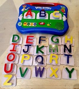 LeapFrog Word Whammer Fridge Phonics 24 Alphabet Refrigerator Learning Magnets