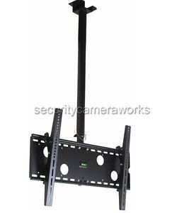 Tilt Swivel LCD LED Plasma TV Ceiling Mount 32 37 40 42 46 47 50 51 55 60 65 B86