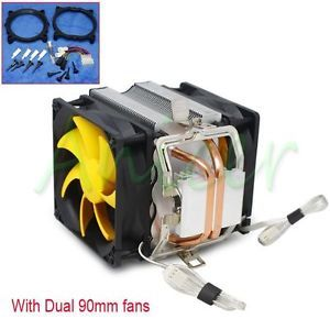 CPU Cooler Cooling Copper Heatsink Fan F Inter LGA775 1156 1366 AMD AM2 AM2 AM3