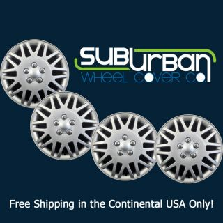"Chrysler Town Country Style 15"" Hubcaps Wheel Covers CCI Part 406 15S Set 4"