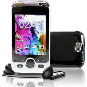 "SVP 2 8"" Touch Screen Dual Sim Quadband GSM Mobile Cell Phone Unlocked"