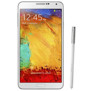Samsung Galaxy Note 3 GT N9000 White Unlocked GSM Mobile Phone 13 MP New