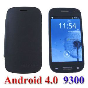 New Dual Sim Android 4 0 Mini 9300 GSM Unlocked T Mobile Smart Cell Phone WiFi