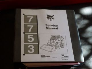 Bobcat 7753 Loader Service Manual 6720899 6–91