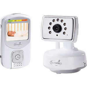 Summer Infant Baby Best View Digital Color Video Monitor Camera Silver
