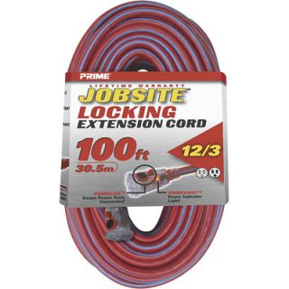Prime Jobsite Locking Extension Cord 100FTL KCPL507835