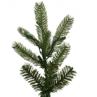 Vickerman Black Hills Spruce 7.5 Green Artificial Christmas Tree with 700 Clear Lights with Stand